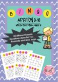 Addition Bingo Number 1-10 (sum not exceeding 10)