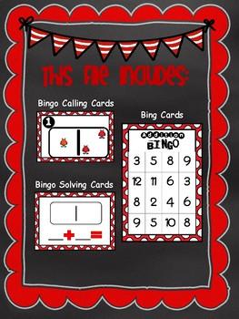 Addition Bingo (Solve & Play)