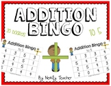 Addition Bingo to 5