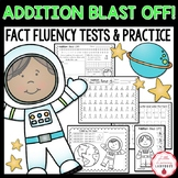 Addition Blast Off! {Timed Tests & Printables for Addition Fluency to 20}
