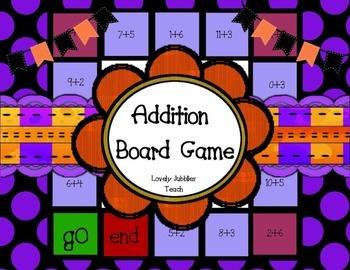 Addition Board Game
