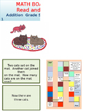 Addition Board Game Kindergarten Math and Reading