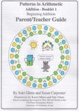 Addition:  Booklet 1 - Parent/Teacher Guide - Beginning Addition