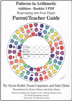 Addition:  Booklet 3 - Regrouping (carrying) into Four Digits Teacher Guide