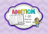 Addition Booklet to 10 or 20