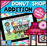 BOOM CARDS™ Math Addition | Math Games Kindergarten 1st Grade