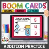 Addition Boom Cards for Kindergarten