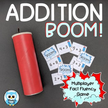 BOOM! - Addition Fact Practice Game