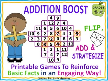 Addition Boost ~ An Engaging Fun Way To Reinforce Basic Facts
