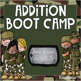 Addition Boot Camp  (Facts to 20)