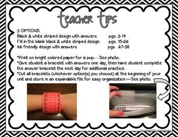 Addition Bracelets