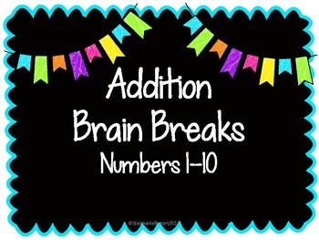 Addition Brain Breaks