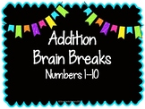 Addition Brain Breaks