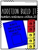 Addition Build It- Number Sentences Within 20