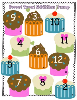 Addition Bump Cupcake Theme