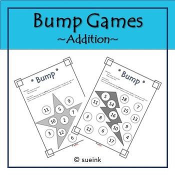 Addition Bump Game FREEBIE!