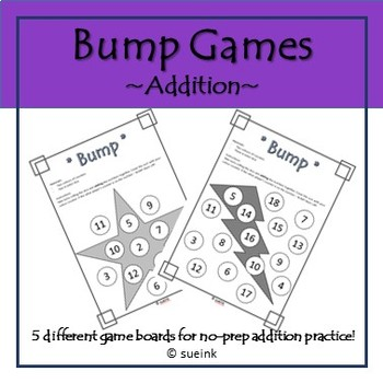 Addition Bump Games