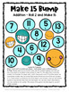 Addition Games 35 Addition Facts Bump Games [Australian UK NZ Edition]