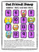 Addition Free: Addition Games No Prep Addition Facts Bump Games