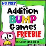 Addition Free: Addition Games No Prep Addition Bump Games