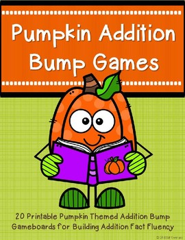 Addition Bump Games {Pumpkin}