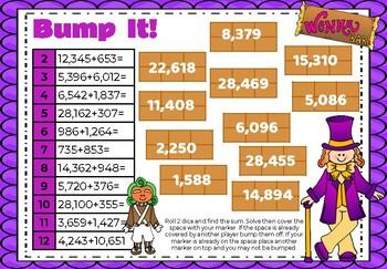 Addition Bump It- Willy Wonka Theme