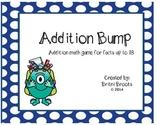 Addition Bump Math Game