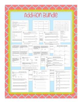 Addition Word Problems Bundle
