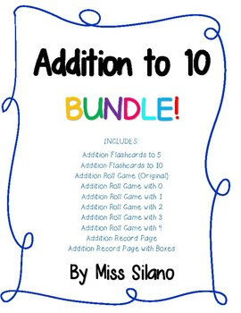 Addition Bundle (Addition Within 10)