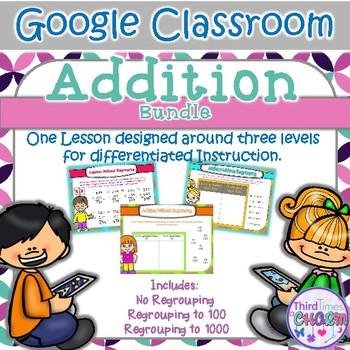 Addition Bundle - Google Slides