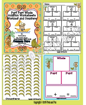 Addition Bundle Pack #1 Envision MAFS & Common Core First Grade
