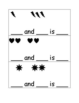 Addition Bundle for Kindergarten