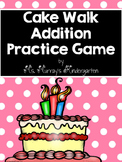 Addition Cake Walk Game