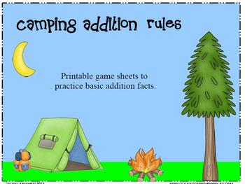 Addition Camping Rules