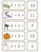 Addition Cards-Halloween