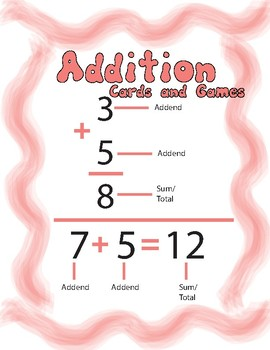 Addition Cards and Games