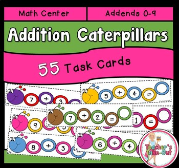 Addition Caterpillars Facts 0-9