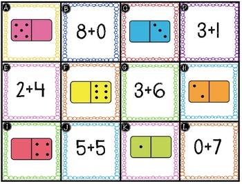 Addition Center: Add Zero - GO MATH! 1st Grade
