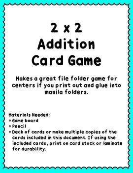 Addition Center Game