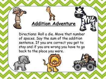 Addition Center Games