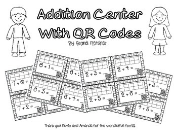 Addition Center With QR Codes