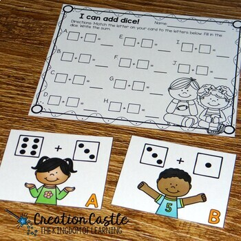 Addition Centers 1-10