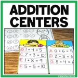 Addition Centers 1-10