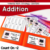 Addition Centers {Count On +2}