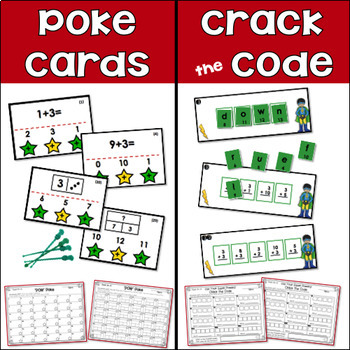Addition Centers {Count On +3}