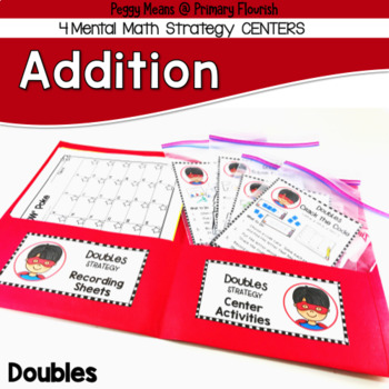 Addition Centers {Doubles Strategy}