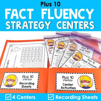 Addition Centers {Plus 10}