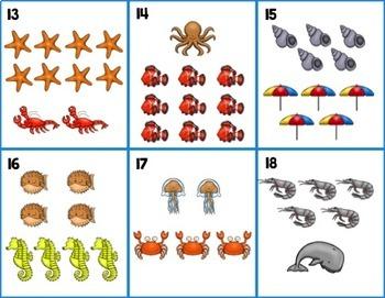 Addition Math Centers for Kindergarten