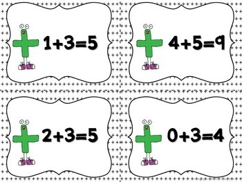 Math Centers for Addition Facts to 10