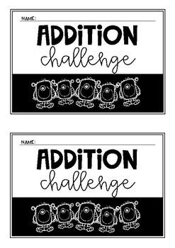 Addition Challenge Booklet